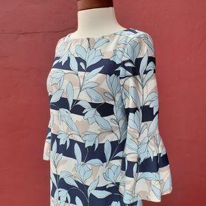 Vince Camuto Floral Flutter Stretch Dress Spring
